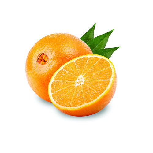 Orange Fruit Topping