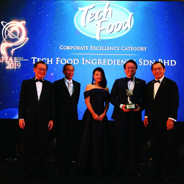 APEA Award 2019 – Corporate Excellence Category (Food & Beverage Industry)